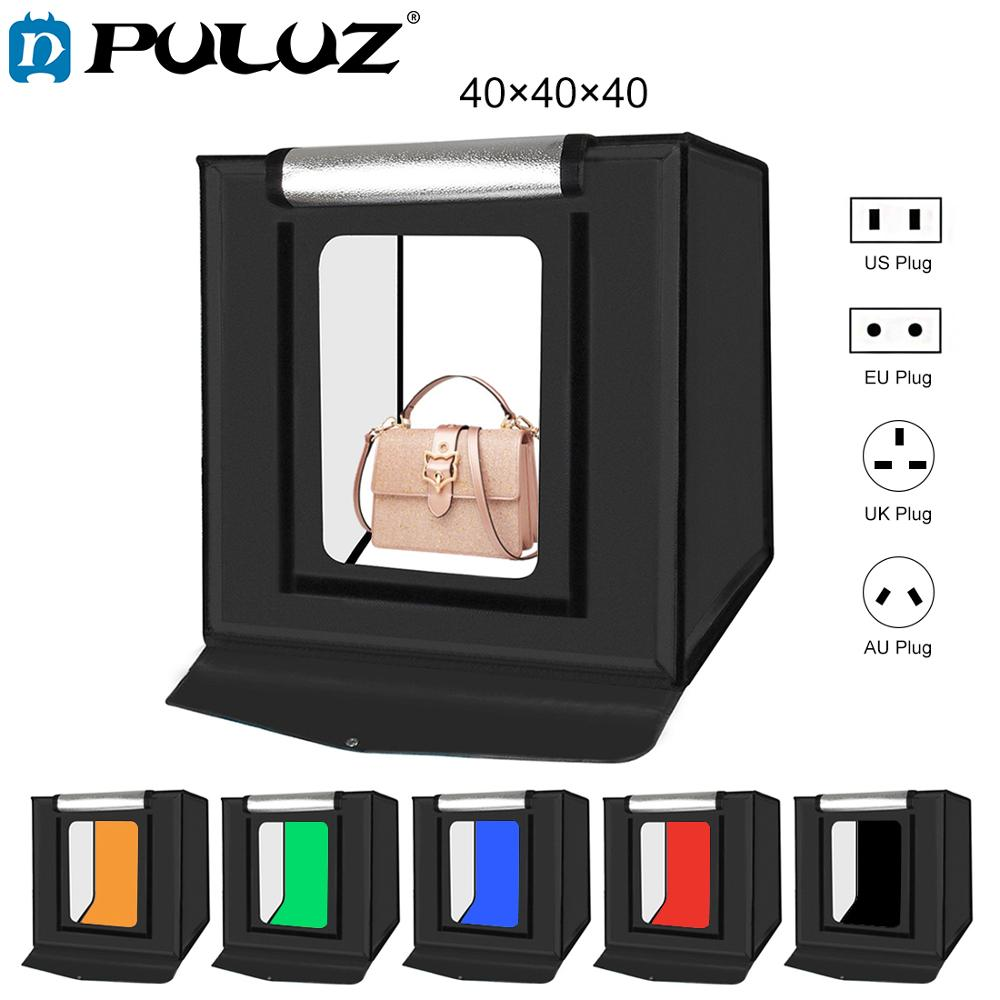 PULUZ 40CM Folding Lightbox Tabletop Shooting Softbox Mini Photo Studio Light Soft Box for Product Photography Background Kit image