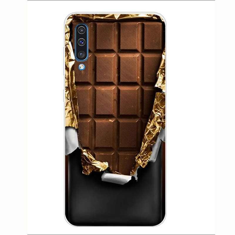 Чехол с принтом для мобильного телефона samsung A50, аксессуары, мягкий силиконовый чехол из ТПУ, чехол Funda I061