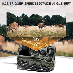 Image 4 - Hc801lte 4g trail camera mms sms e mail caça câmera 16mp 1080p 940nm ir led night vision selvagem câmera 0.3s gatilho foto armadilhas