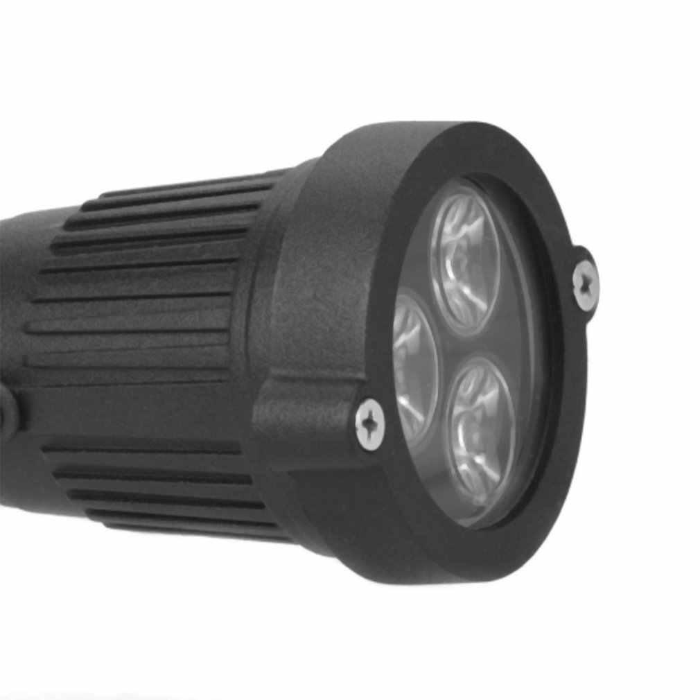 Icoco 2 Tahan Air 3W LED Rumput Lampu dengan Pin Ideal untuk Jalan Taman Halaman Spot Light 85-265V Pemandangan Kolam Spike Lampu