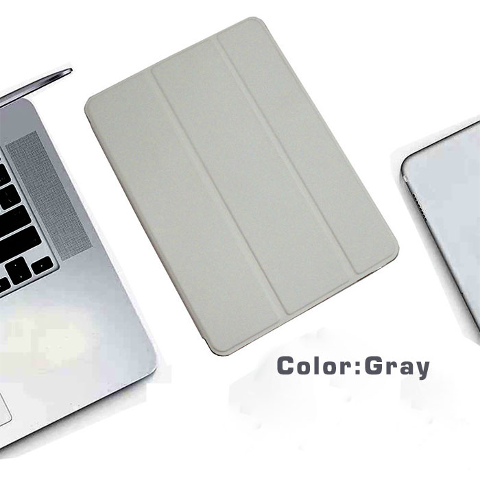 Gray-12.9 4th White For iPad Pro 12 9 2020 semi transparent back Case with pencil holder case for Apple