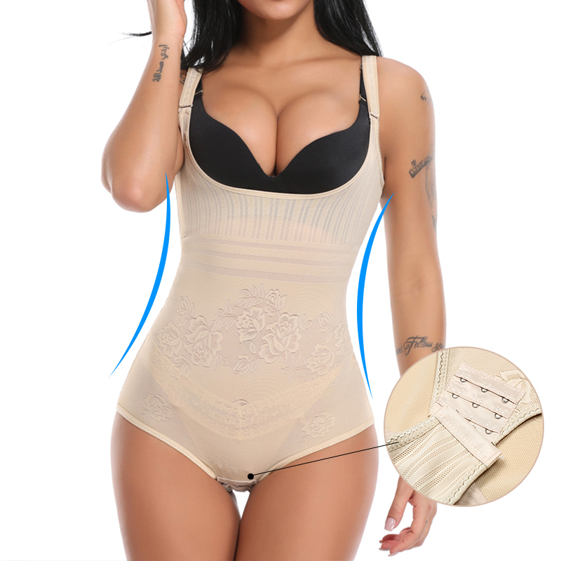 Full Body Shaper Slim Colombian Reductive Girdles Waist Trainer Corset Shapewear Bodysuit Slimming Underwear