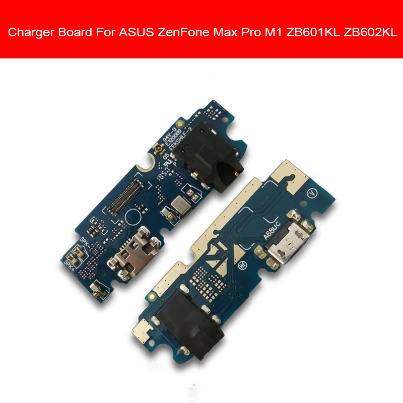 Genuine USB Charger Board  For ASUS ZenFone Max Pro M1 ZB601KL ZB602KL Charging Port Dock USB Board Replacement Repair Parts