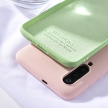 Original Liquid Silicone Phone Case For Xiaomi