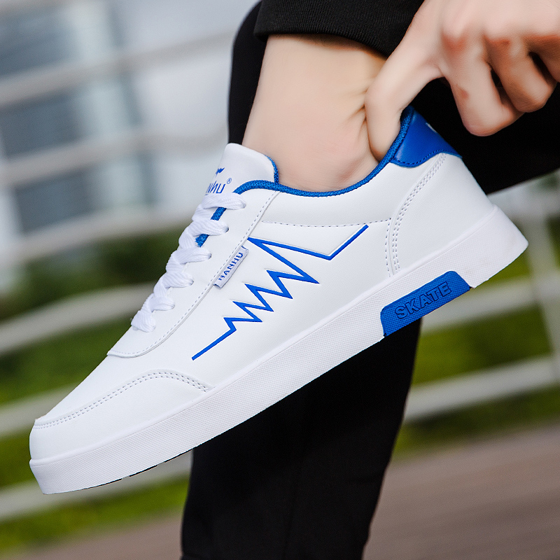 High Quality Brand Men Casual Shoes Hot sale Spring Autumn Casual Shoes Men Breathable Fashion Green Red Casual Men Shoes White 5