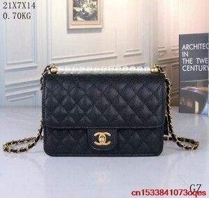 Luxury Designer Brand Chanel- Handbag Shoulder Bags Women Messenger Bag Bolsa Feminina Handbags C198