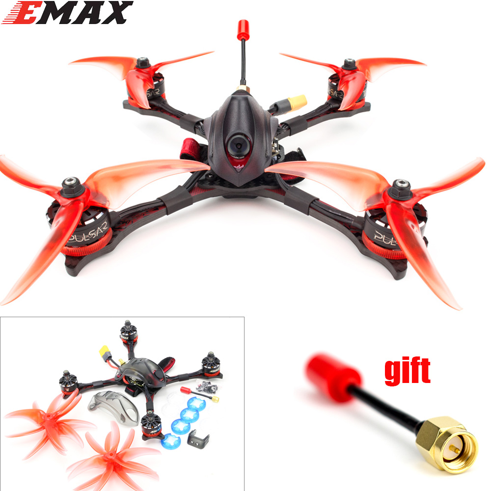 Emax Hawk Pro PNP BNF FPV Drone Kit 1700kv/2400kv Motor Mini Magnum Controller HDR Fpv Camera For RC Plane with Antenna gift image