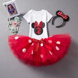 Baby Mädchen Weihnachten Kleid 2 jahr alt Geburtstag Kleid für Säuglings Mädchen Ersten Geburtstag Outfits Maus Kleinkind Mädchen Taufe Kleid