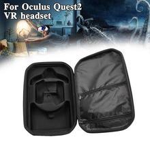 Новинка, портативные аксессуары виртуальной реальности для Oculus Quest 2, чехол для переноски, чехол для хранения, защитная гарнитура из ЭВА для ...