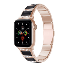 Brandnew Stainless Steel Watchbands For Apple Watch1/2/3/4/5 Jade Wristband  Smart Watch Fashion Jewelry Bands Factory