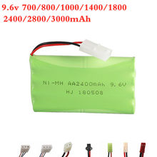 9.6v 700mah 800mah 1000mah 1800mah 2400mah 2800mah 3000mah mah ni-cd/ni-mh bateria para o brinquedo do rc iluminação eletric factilities securty(China)