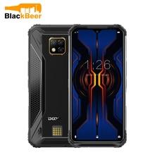 DOOGEE S95 Pro 6.3 Cal Android 9.0 telefon komórkowy wytrzymały IP68 odporny na upadki Smartphone MTK P90 8GB 128GB telefon komórkowy 48MP AL aparaty fotograficzne