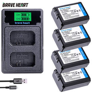 Dual-Charger Fw50-Battery A7ii A6500 Sony Alpha NP-FW50 2000mah LED for A6500/A6300/A7/..