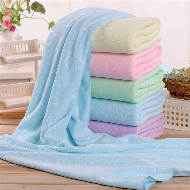Bath Towel Large Size Soft Absorbent Men And Women Household Adult Children Lovely Thick Towel Small Square Towel Set