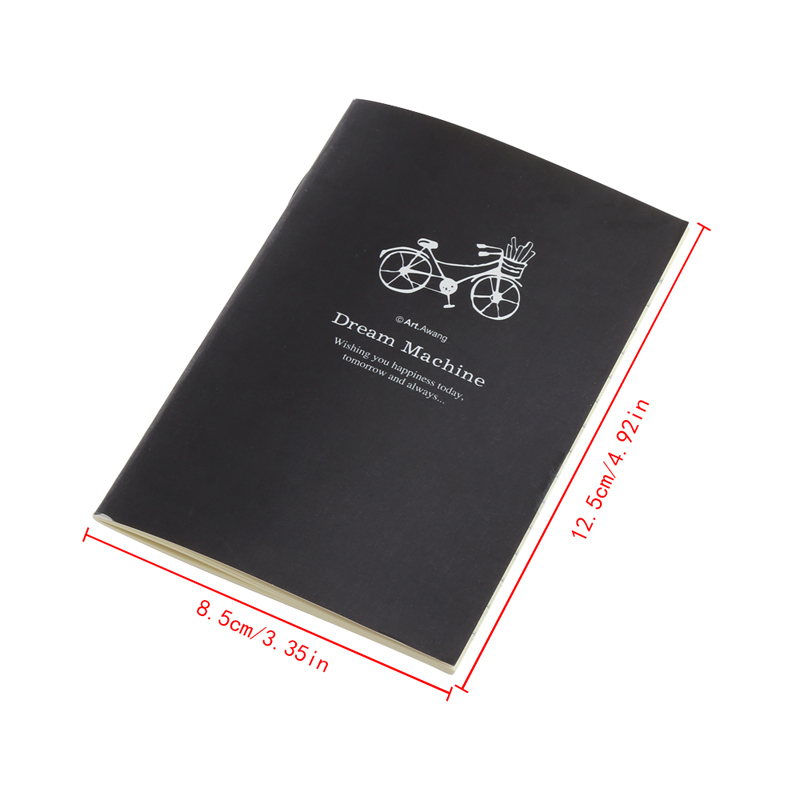 Drop Ship Cute Cartoon Journal Diary Memo Note Book Notepad Blank Page Stationery School