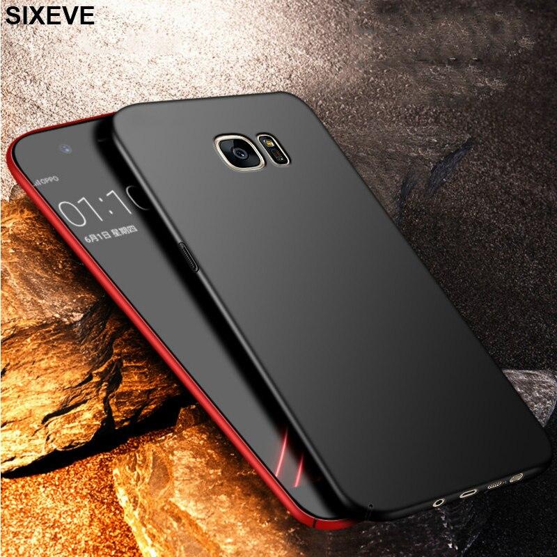 Ультратонкий чехол для Samsung Galaxy S6 S7 Edge S8 S9 Plus Note8 Note9 J5 J7 Pro J6 A3 A5 A7 2017 A6 A8 2018 жесткий чехол для телефона из ПК Специальные чехлы      АлиЭкспресс