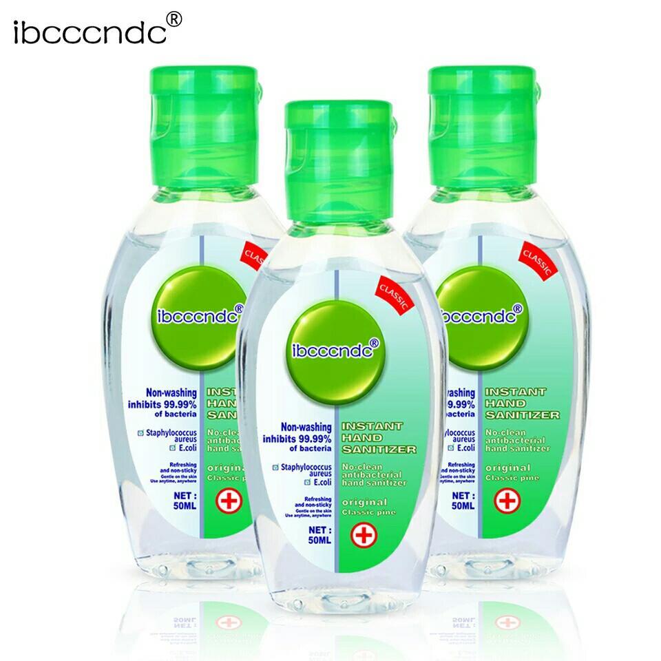 Wholesale Portable Hand Sanitizer Gel Anti-Bacteria Moisturizing Disposable No Clean Waterless Antibacterial Handgel 50ml*10pcs