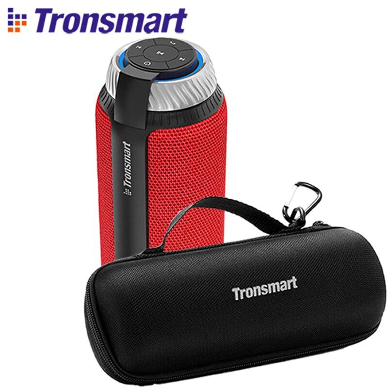 Tronsmart T6 Bluetooth haut-parleur 25W extérieur Portable haut-parleur colonne sans fil haut-parleur 360 stéréo son barre de son haut-parleurs pour téléphone