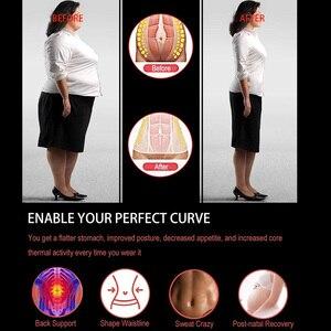 Image 5 - Женский корсет для утягивания талии, неопреновый корсет для утягивания талии, для пресса живота, фитнеса, похудения