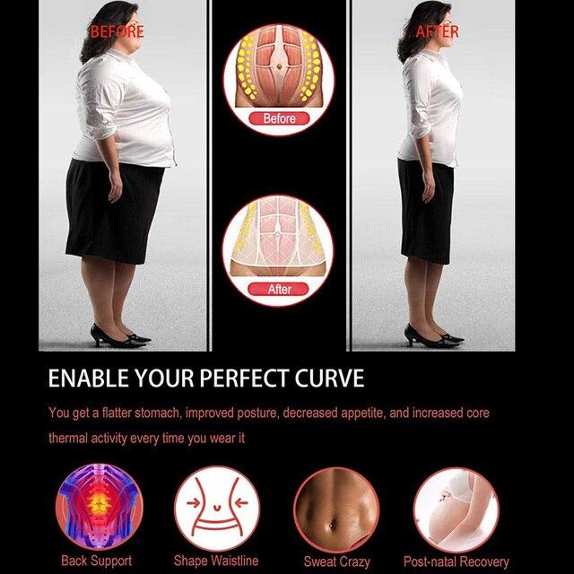 Women Waist Trainer Corset Slimming Belt Body Shaper Cincher Neoprene Sauna Sweat Shapewear Abdominal Fitness Slimming Belt Faja 5