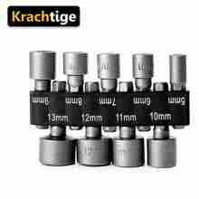 Wrench-Screw-Tool Drill-Bit Adapter-Socket Power-Nut-Driver Hex Shank Krachtige 5mm-13mm