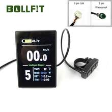 Bicycle-Accessories Display Ebike-Color LCD8S Electrice BOLLFIT Kunteng KT USB