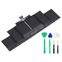 "A1494 Laptop Batterij Voor Apple Macbook Pro 15 ""A1398 Retina Late Mid 2014 2013 ME293 ME294 MC975 MC976 Vervanging batterijen(China)"