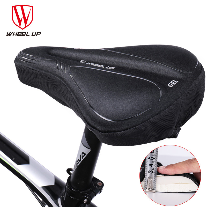 Mountain Road Bike Bicycle Seat Saddle Cushion Pedals Non-Slip Handlebar Grips