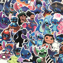 Stitch disney Stickers toys Classics Lilo Cute Cartoon peluche stitch Scrapbooking For toy
