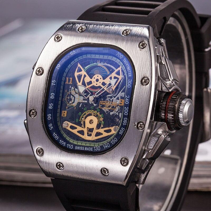 Mille Mens Watches Top Luxury Brand RM Richard Watch 1:1 Men's Quartz Automatic Wristwatches DZ Male Clock Water Resistant 50bar
