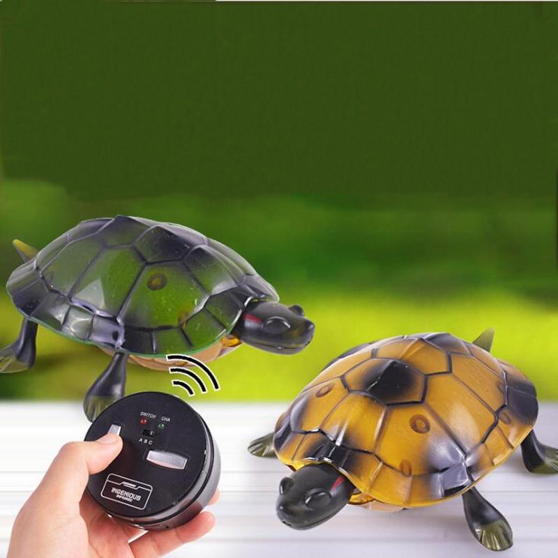 brinquedos para criancas de controle remoto sem fio controle remoto tartaruga tartaruga simulacao modelo animal engracado