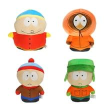 2020 novo jogo dos desenhos animados-boneca os parques do sul brinquedo de pelúcia stan kyle kenny cartman recheado boneca de pelúcia crianças presente de aniversário do miúdo