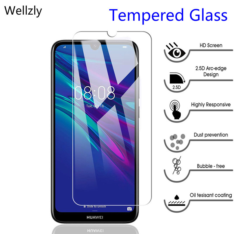 9H <font><b>Tempered</b></font> <font><b>glass</b></font> for huawei P smart 2019 honor7x Glas screen protector on huavei <font><b>honor</b></font> 8a <font><b>8</b></font> 8x 8s 10i 9 10 lite protective film image