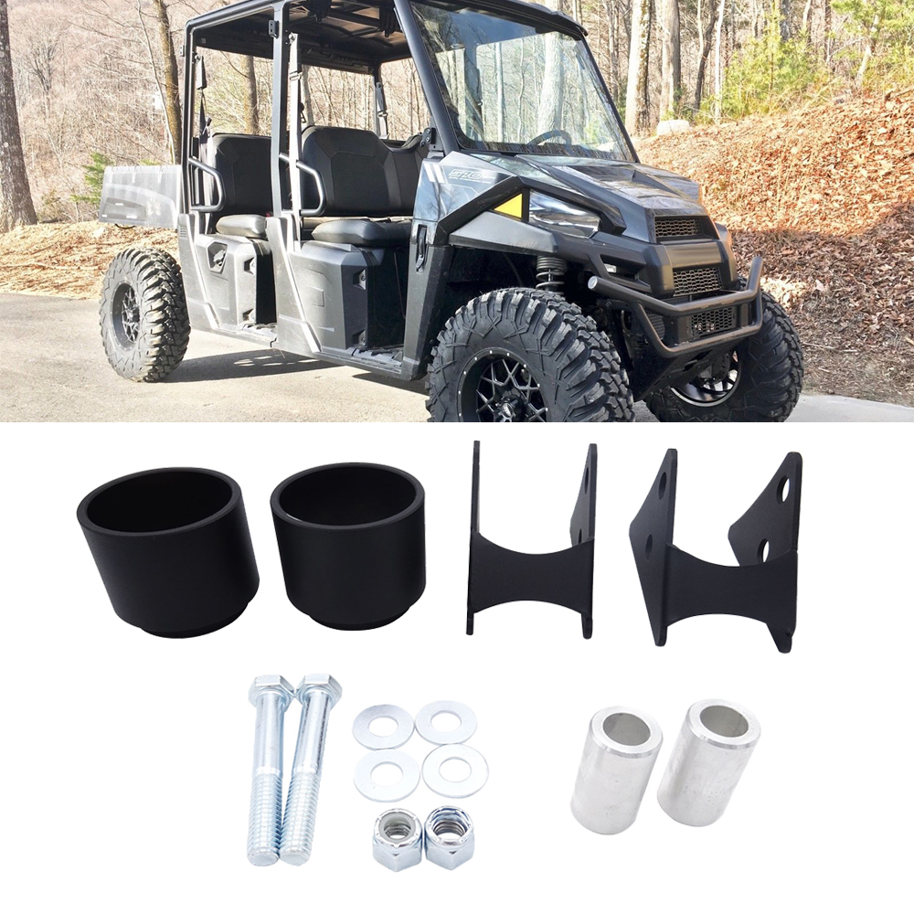 UTV Front And Rear Suspension 2.5 Inches Lift Kit Rise Fit Polaris Ranger 500/570/800/CREW Midsize 2014-2019