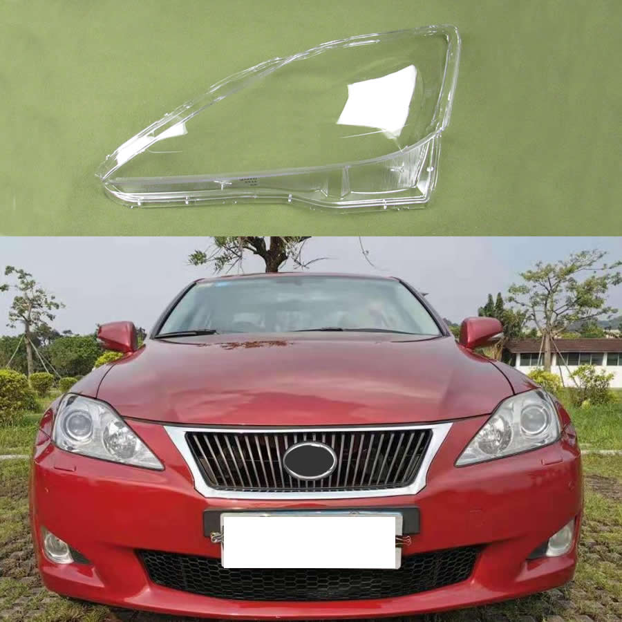 For Lexus IS250 IS300 IS350 2006-2012 Lamp Cover Headlamp Shell Transparent Lampshade Headlight Cover Lens Glass
