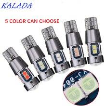 Каляда высокое качество водить автомобиль свет T10 W5W и 3030 супер яркий авто Клин интерьер чтение лампы парковка???? ??????