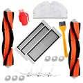 Main Side Brushes Kit For XIAOMI MI Mijia Roborock S50 S51 Vacuum Cleaner