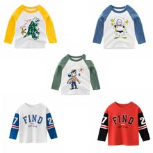 CYSINCOS Baby Clothes Girls Boys Sweatshirts Infant Soft Cotton Top Cartoon Sweater Children Autumn Pullover Kids Outerwear