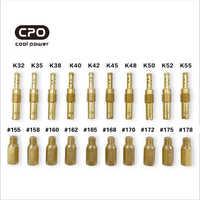 Carburador que encaja en la boquilla principal de cobre Pwk PE Para Keihin OKO Carbs K32 K35 K38 k40 K42 K45 K48 K50 K52 K55 boquilla de aceite