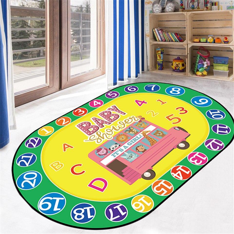 WISHSTAR Disainikas vaip lastetuppa