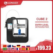 Mais longo cube2 fdm impressora 3d longer3d fdm impressora 3d impresora 3d drucker