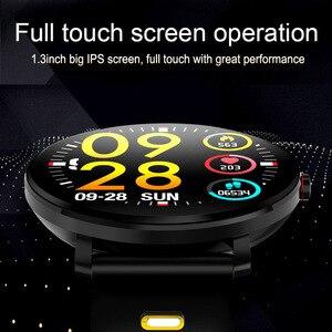 Image 2 - Super Slim Smart Watch Men IP68 Waterproof Sports Smartwatch Men Clock Heart Rate Monitor Fitness Bracelet reloj inteligente K9