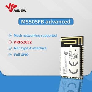 Image 3 - Bezprzewodowy moduł nadawczo odbiorczy RF Bluetooth BLE 5.0 nRF52832 moduł 2.4GHz z antena PCB