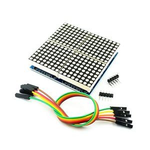 1/2/4/8 бит MAX7219 точечная матрица модуль микро Управление; Модуль DIY KIT MCU светодиодный Дисплей Управление модуль комплект
