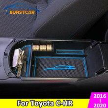 Xburstcar ящик для хранения в подлокотнике автомобиля, центральный консоли, органайзер, контейнер, держатель, коробка для Toyota C-HR CHR 2016-2020, аксессу...