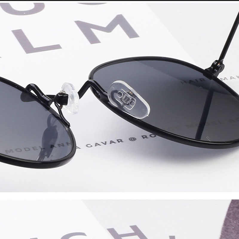 Rmm 2020 Klassieke Kleine Frame Ronde Zonnebril Vrouwen/Mannen Merk Designer Legering Spiegel Zonnebril Vintage Lenzenvloeistof Gratis Bezorging