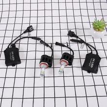 P6 LED Chip 55W H11 Car LED Headlamp Kit 5500LM Lamp Led Chip 6000K White Double-mouth Head Lamp