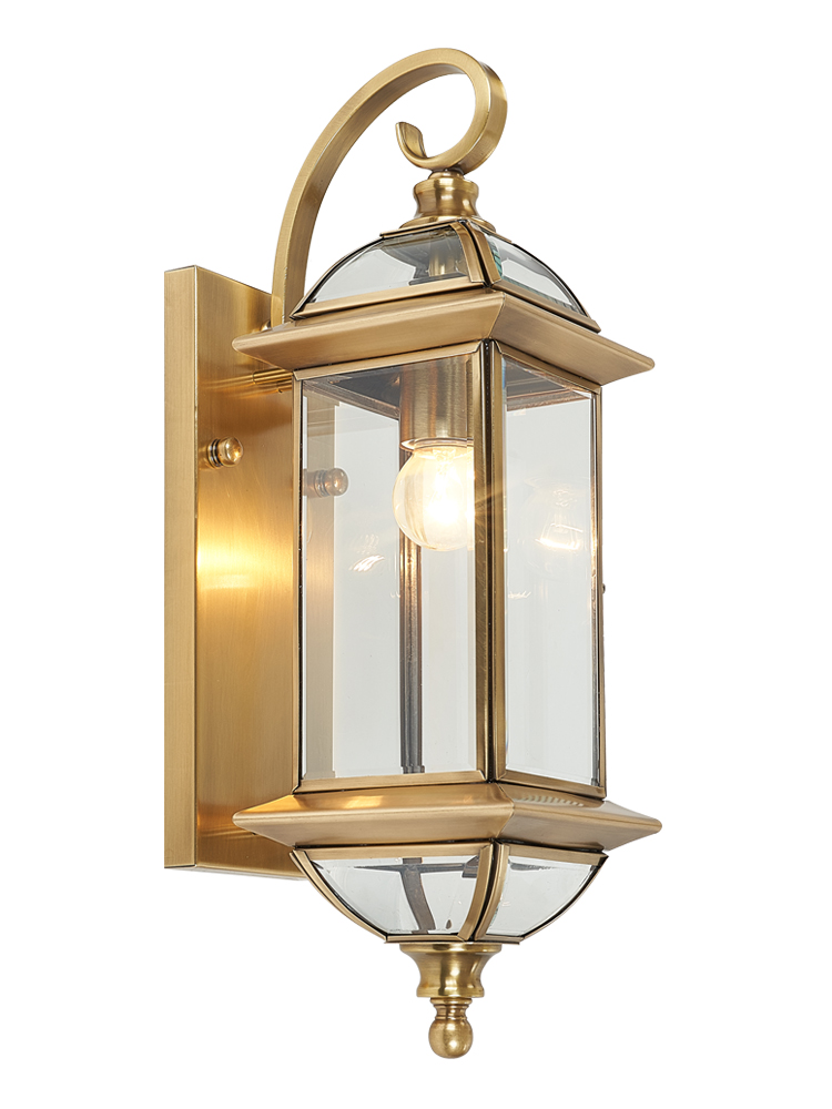 Retro H65 Copper Wall Lamp