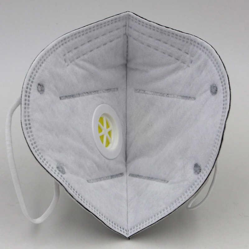 1 PC Lipat Masker Debu Sekali Pakai Respirator Debu Keselamatan Kerja Masker untuk Rumah Bersih Tukang Kayu Builder Polishing