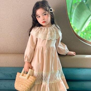Vestido para chicas adolescentes vestido de princesa de estilo clásico disfraz de bebé niña vestido para 1ª fiesta de cumpleaños boda niñas pequeñas vestidos de encaje